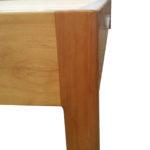 Amelia Bed Base - Leg Close Up