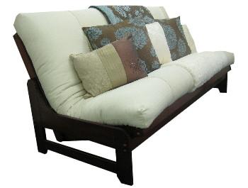 ... Futon Sofa Bed Accica Brown ...
