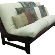 futon sofa bed accica brown