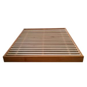Copenhagen Bed Base - Stained Timber Finish