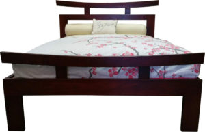 Emperor Bed Base (2) - Dark Cedar