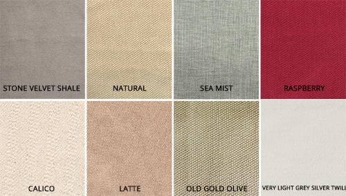 FABRIC COLOURS 500 new colour added