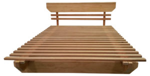 Mid-set Bed Base with Headboard No.3 c