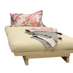 Oslo Futon Sofa Bed in bed position