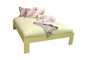 Stockholm bed base - natural (1)