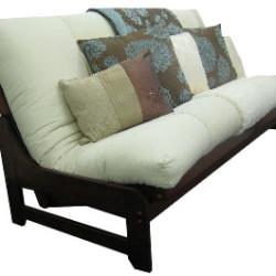 futon sofa bed accica brown