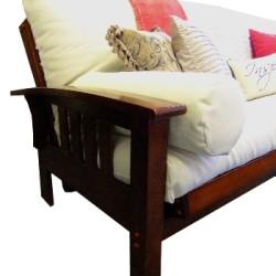 futon sofa bed lisbon arm b1