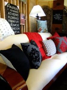 futon sofa bed retro newest